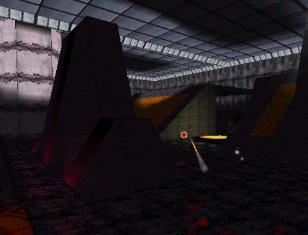 Screenshot from Botmatch 3d game demo