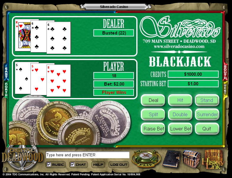 Screenshot from Casino Games