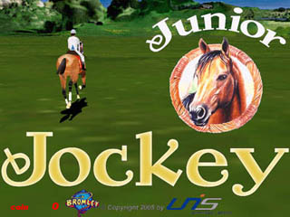 Screenshot from Junior Jockey - coin-op arcade game