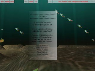 Screenshot from Oceana 3d programming demo